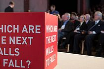 [Translate to English:] Falling Walls Conference.