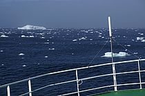 The Irminger Sea seen from the research vessel MARIA S. MERIAN. It is one of the few regions in the world where deep convection occurs. The process is a key component global ocean circulation system. Photo: Arne Bendinger / GEOMAR