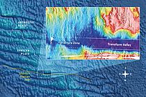 Map of the Atlantis II Fracture Zone