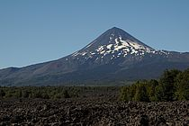 The Villarica volcanoe in Chile. Photo: M. Nicolai, GEOMAR