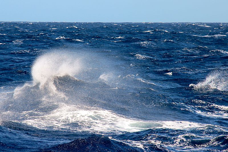Waves in the North Atlantic. Photo: Arne Körtzinger/GEOMAR